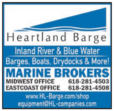 Heartland Barge (2 inch) Marine Brokers