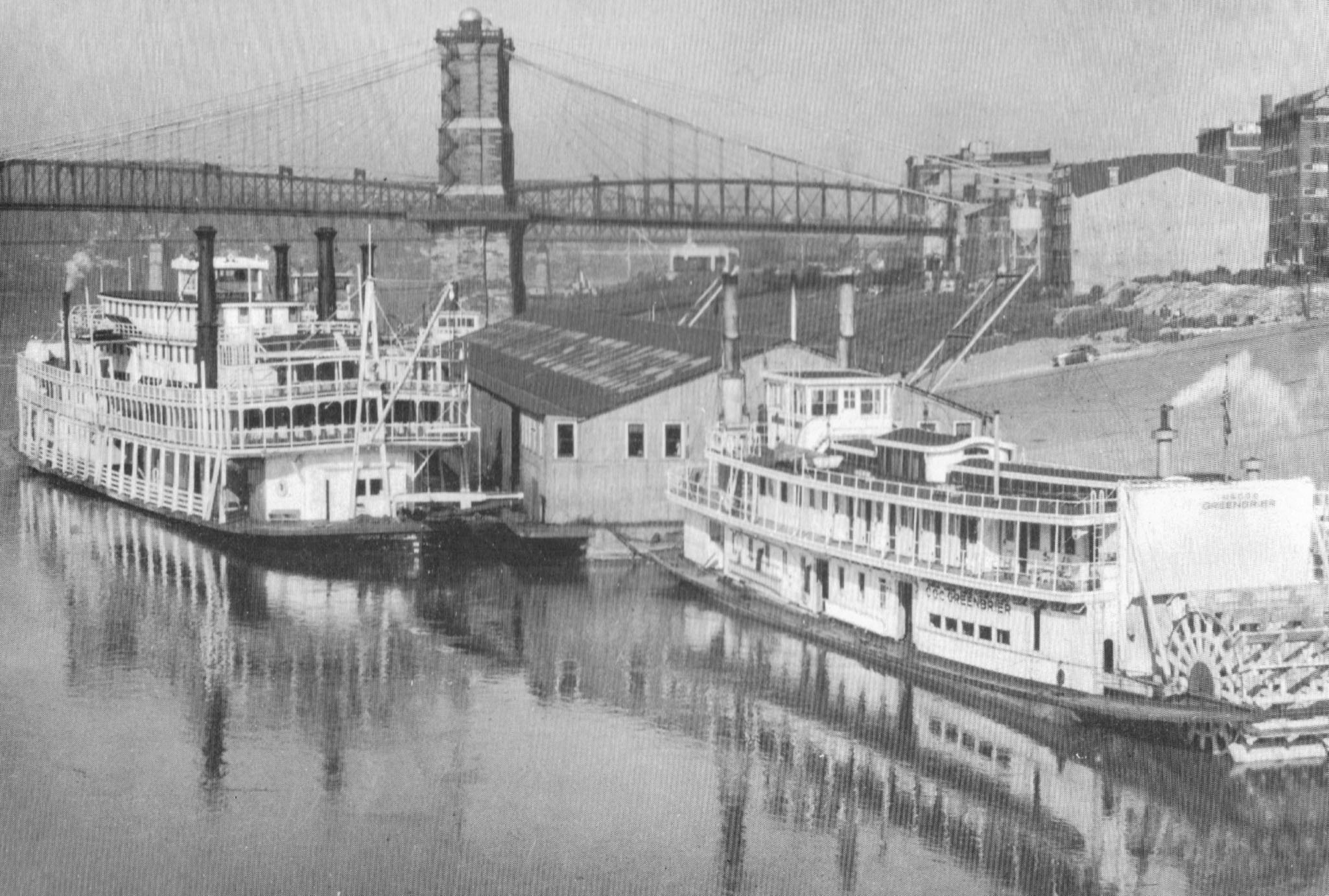 The Cincinnati Waterfront In 1941
