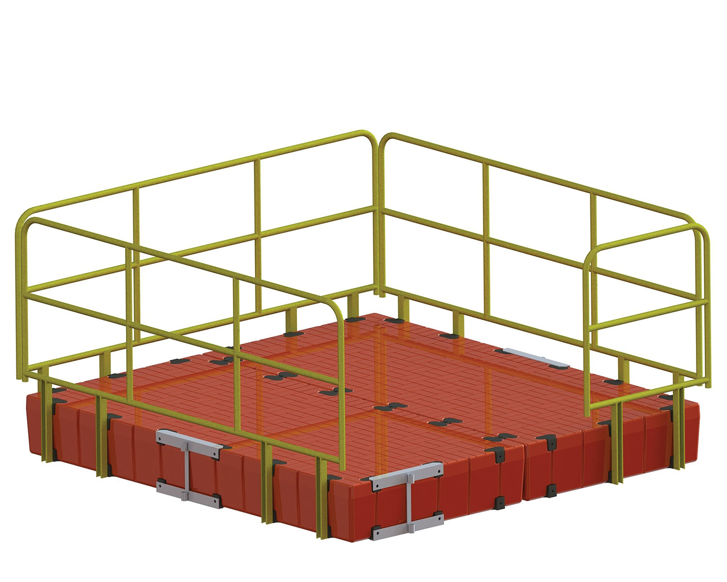 Snap Dock platform with anchor points.