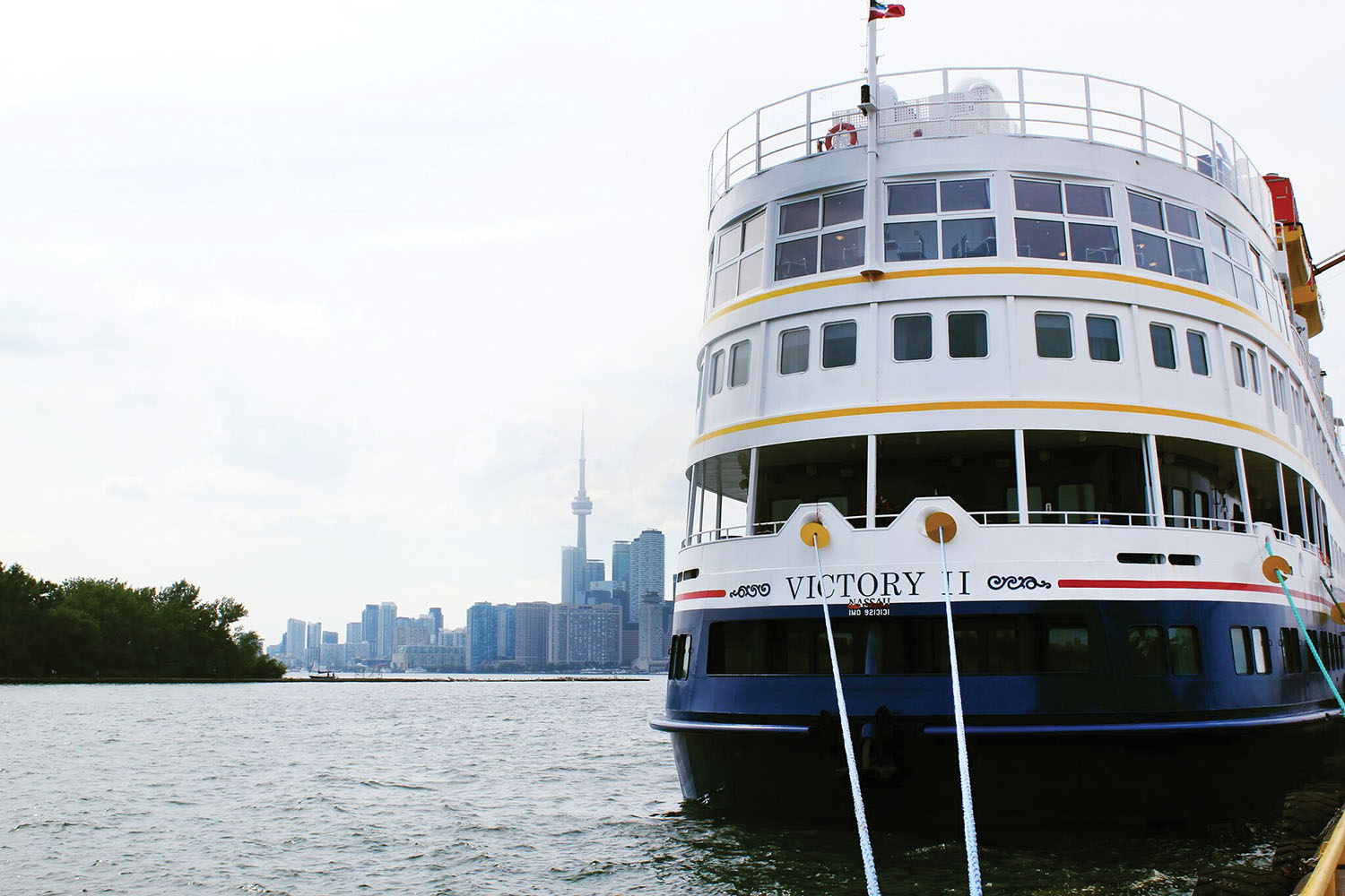The 202-passenger Victory I and Victory II (shown here) will cruise on the Great Lakes.