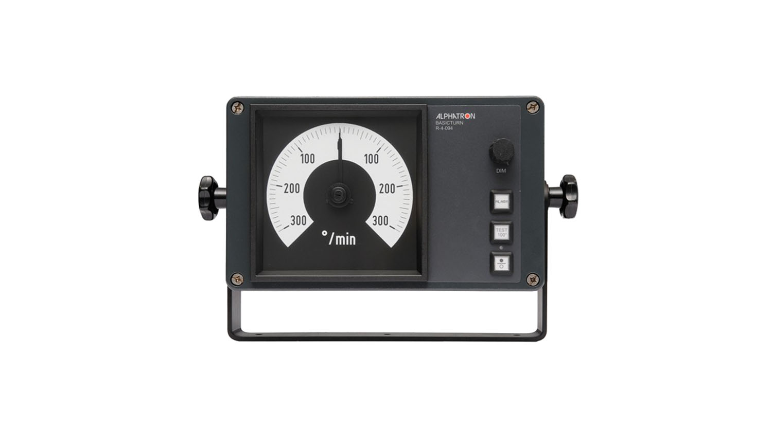 The Basicturn swing meter, with galvanic separated signal output, an alarm output and other features for inland shippers.