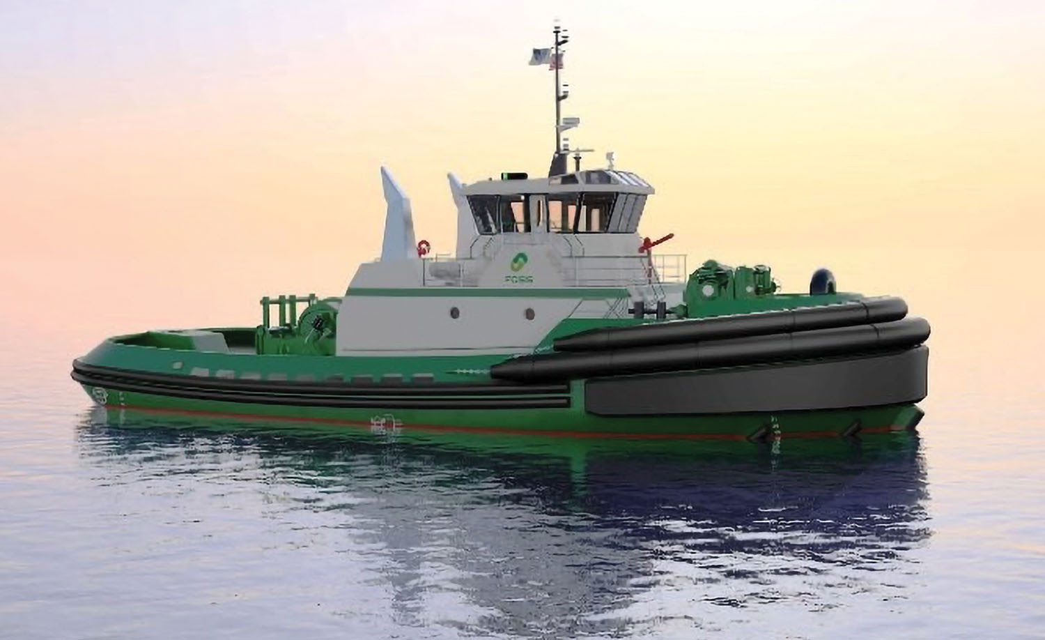 Z-drive tugs are being constructed by Nichols Brothers Boat Builders.
