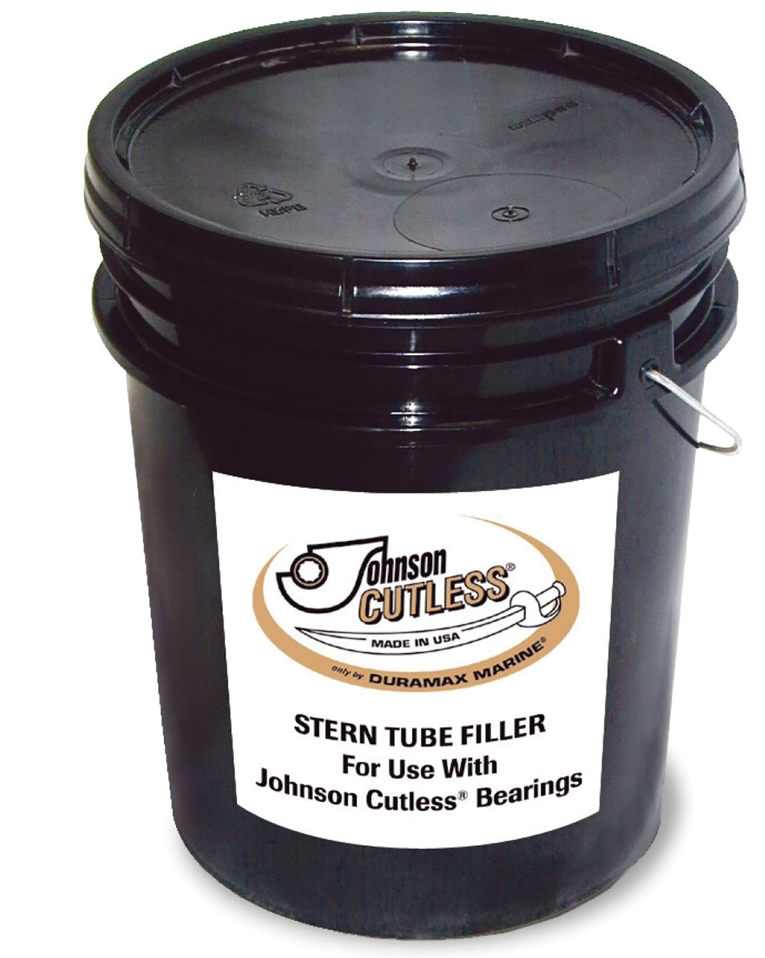 Humco Marine now carries Johnson cutless stern tube filler available in 5-gallon buckets.
