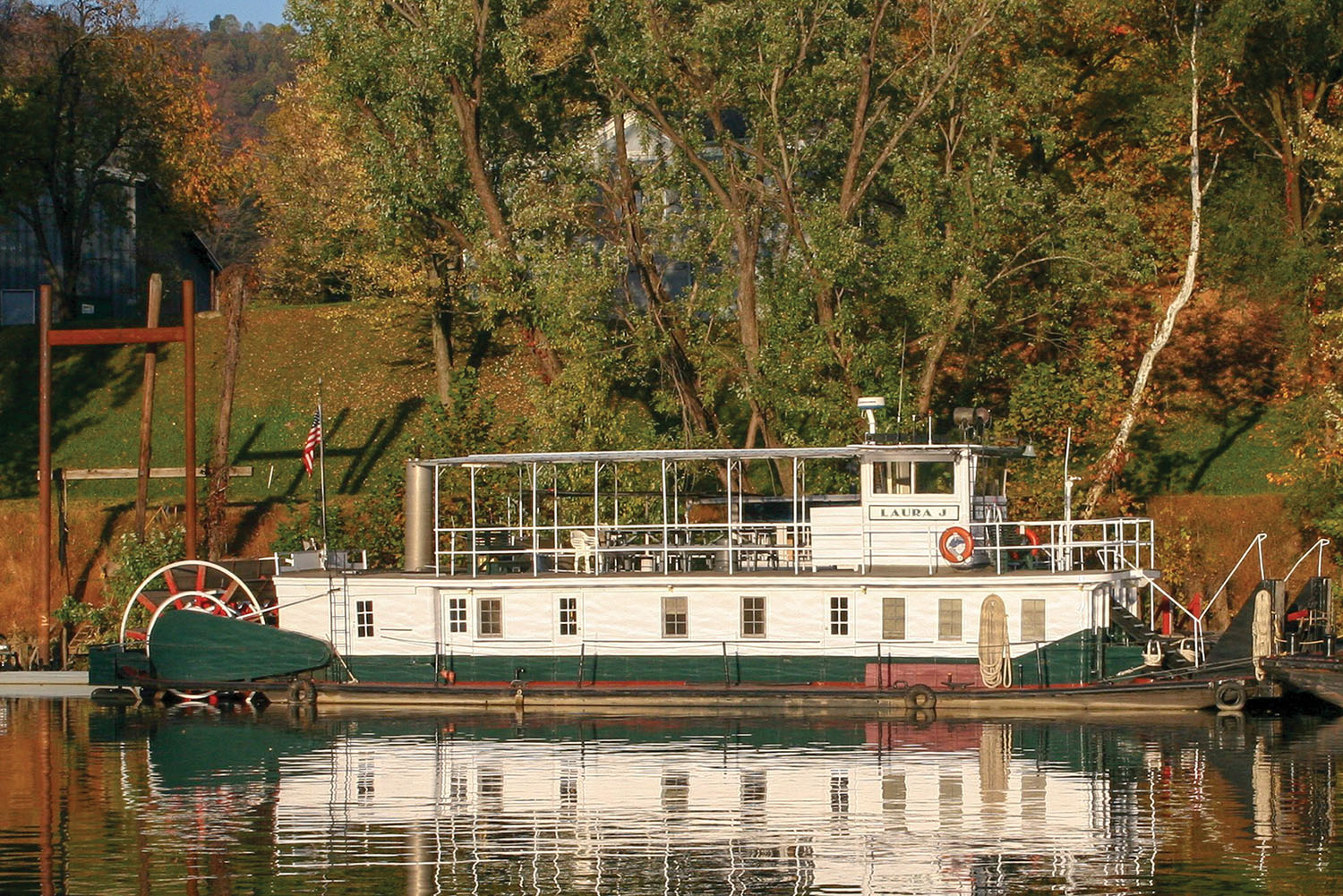 Ninth-Decade Towboats In Amherst Madison Fleet