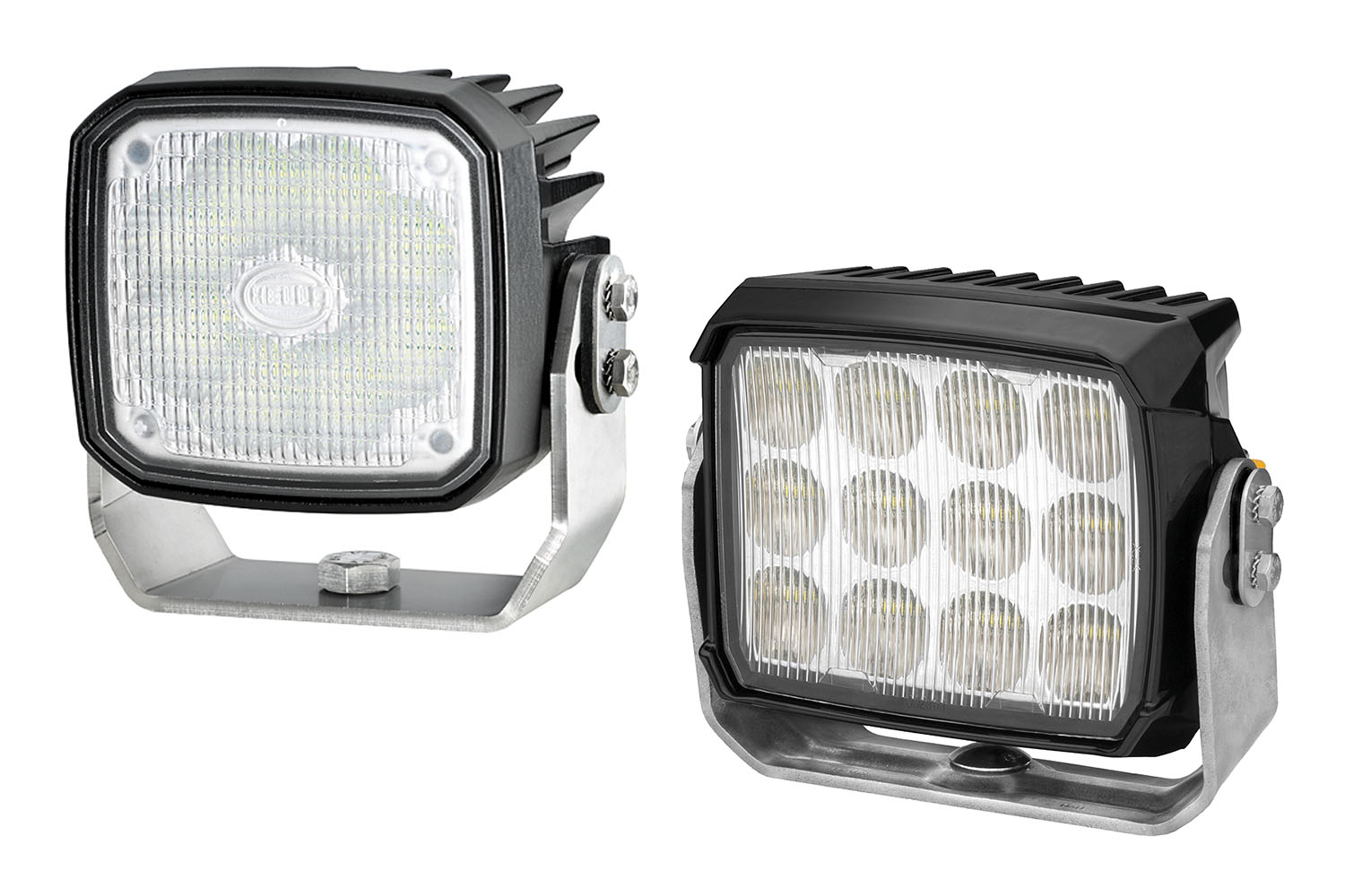 Hella RokLUME LED floodlights are available in 7,500- or 4,300-lumen models.