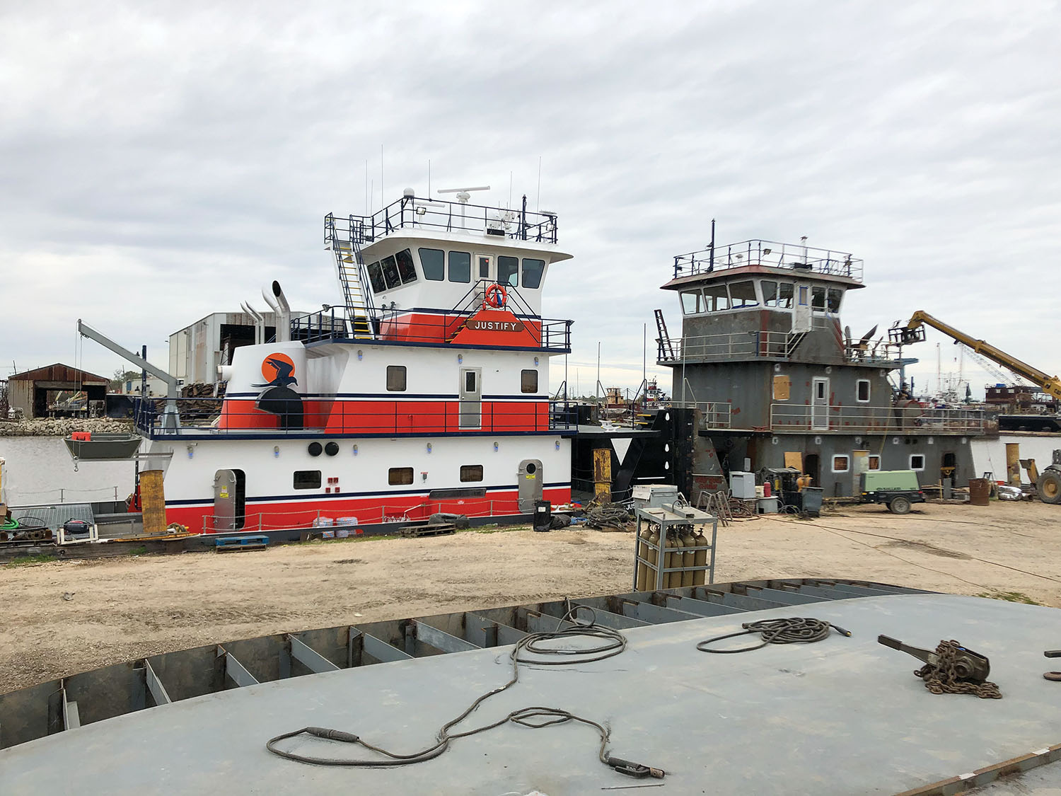 Eymard Has Four Boats Under Construction