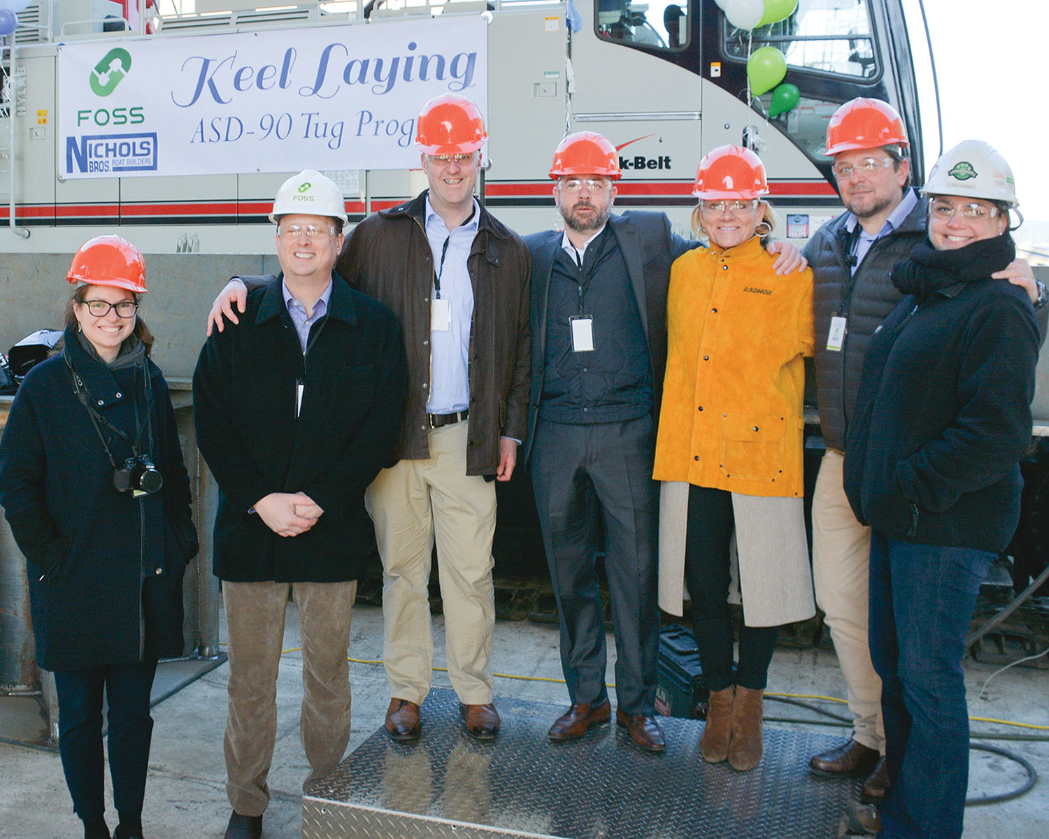 Keel Laid For New Foss Maritime Tier 4 Vessel