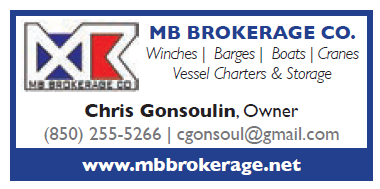 MB Brokerage (1 inch) Wenches, Barges, Boats, Cranes