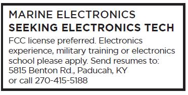 Marine Electronics (1 inch) Seeking Tech