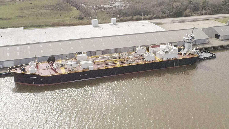 Conrad Shipyard Delivers Vane Brothers ATB Unit