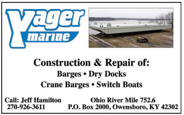 Yager Marine (Eighth) Construction & Repair Switch Boats