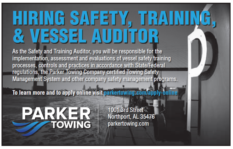 Parker Towing (Eighth) Safety Auditor