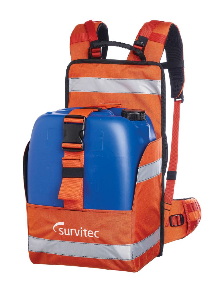 The Foam Buddy backpack from Survivtec.