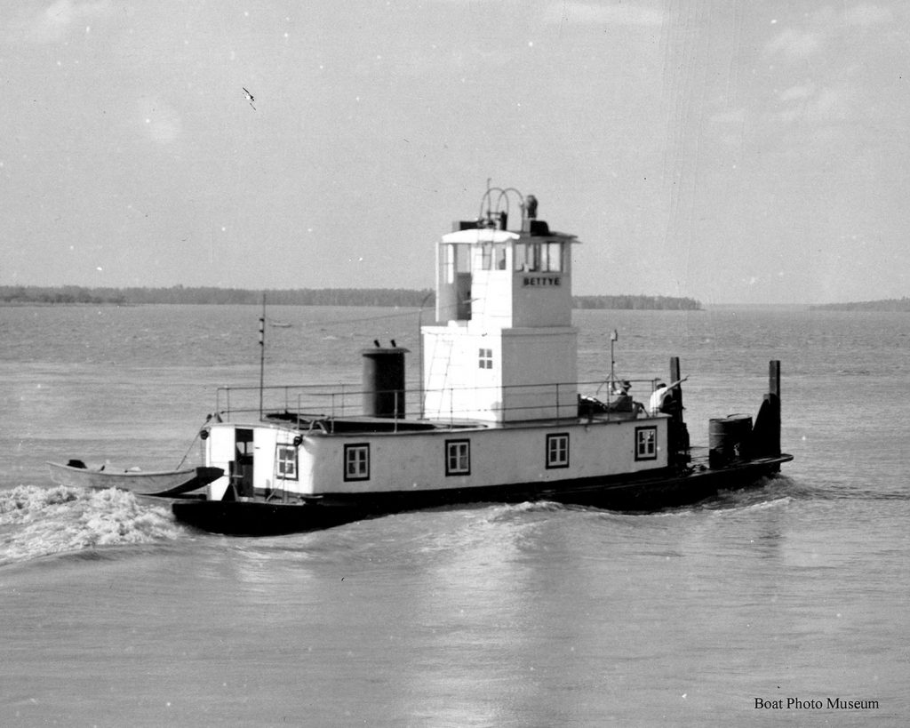 The Bettye, as it was then named, in 1948.