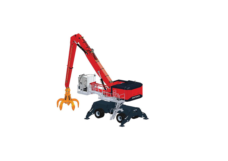 Mantsinen Introduces New Medium-Sized Crane To Market