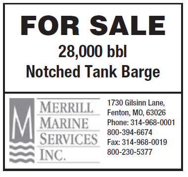 Merrill Marine Services (2 inch) Tank Barge