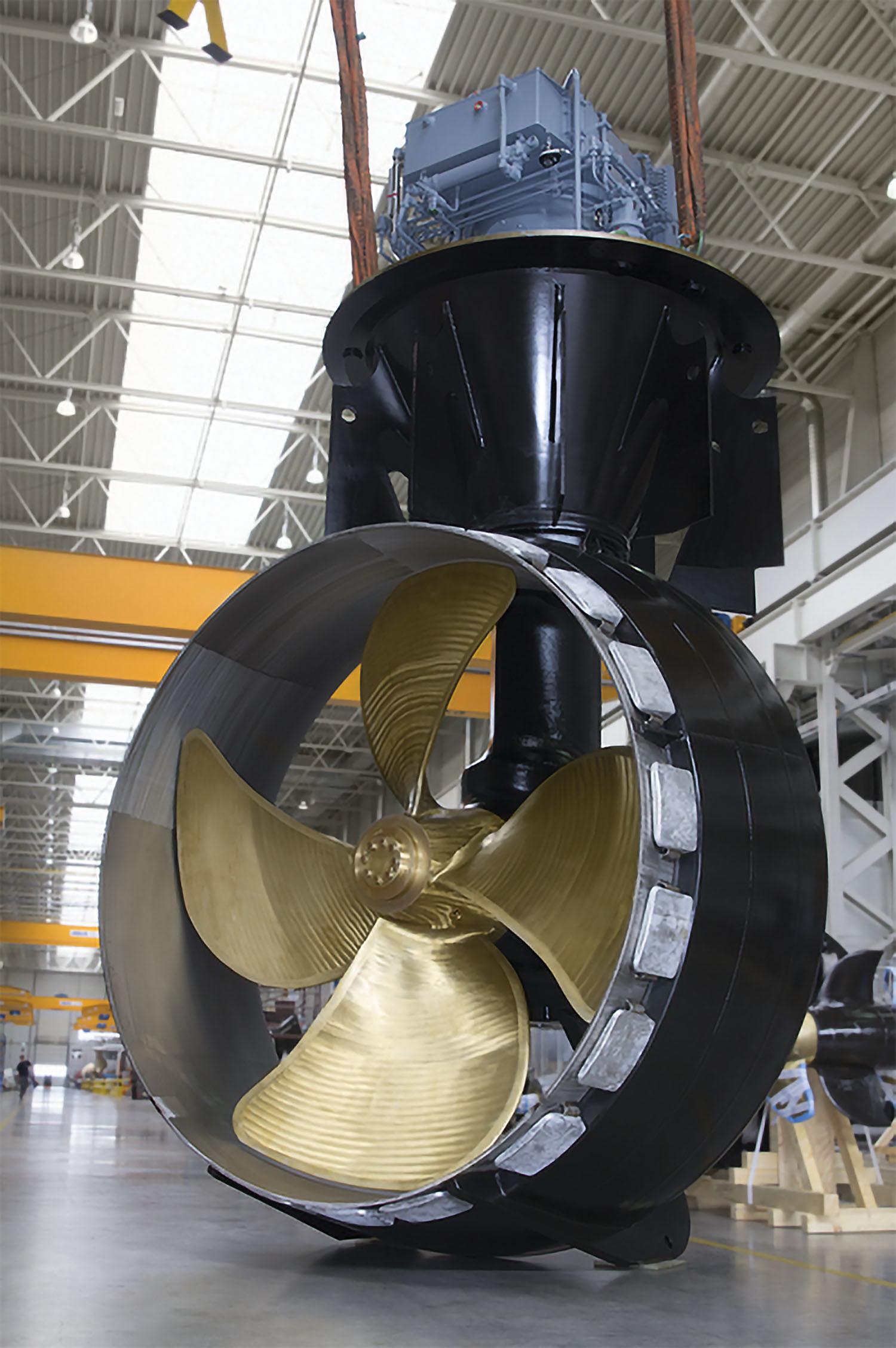 Mcallister Tug Propelled By Schottel