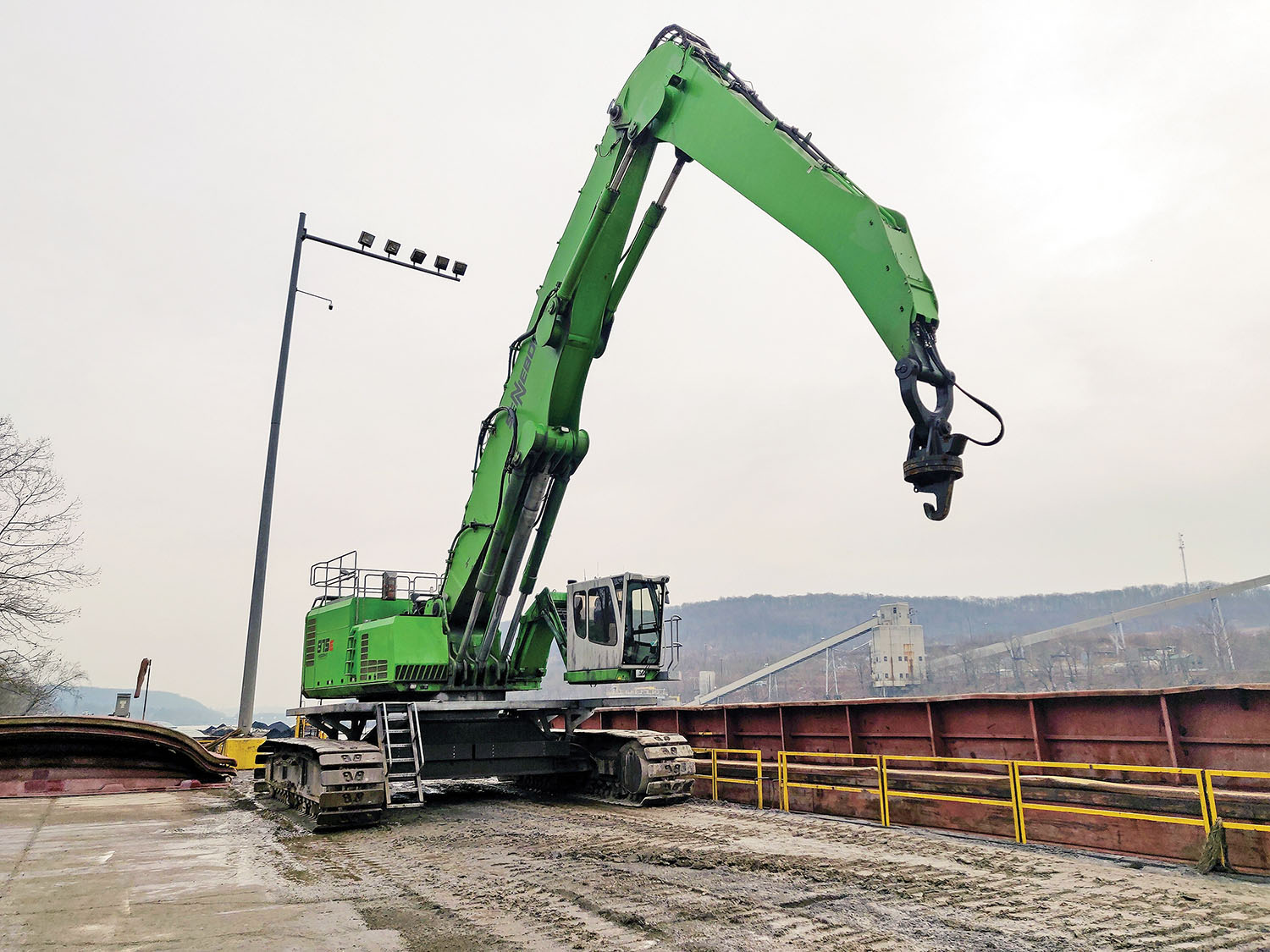 Industry, Pa., Terminal Adds Efficiency With New Material Handler
