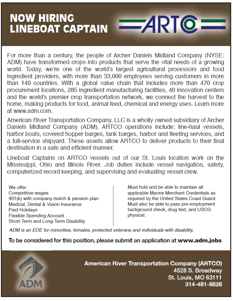 Artco (Quarter) Now Hiring