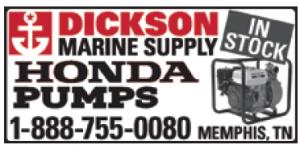 Dickson Marine (1 inch) Honda Pumps