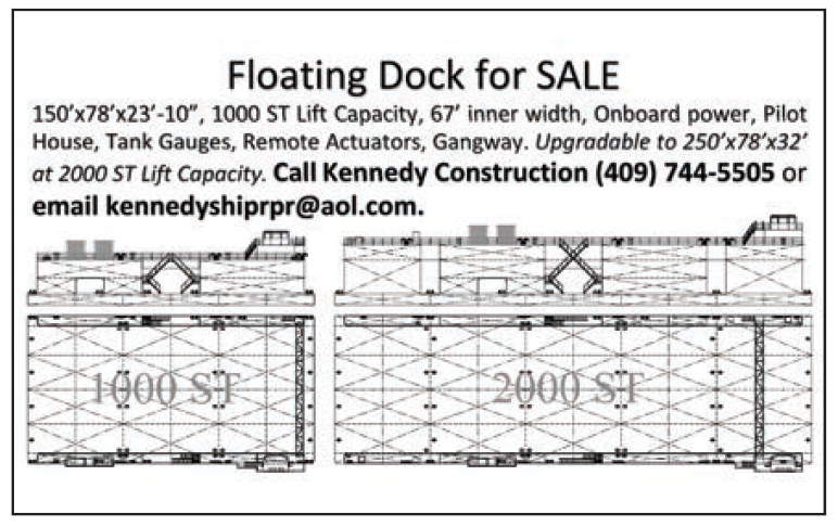 Kennedy Construction (Eighth) Floating Dock For Sale