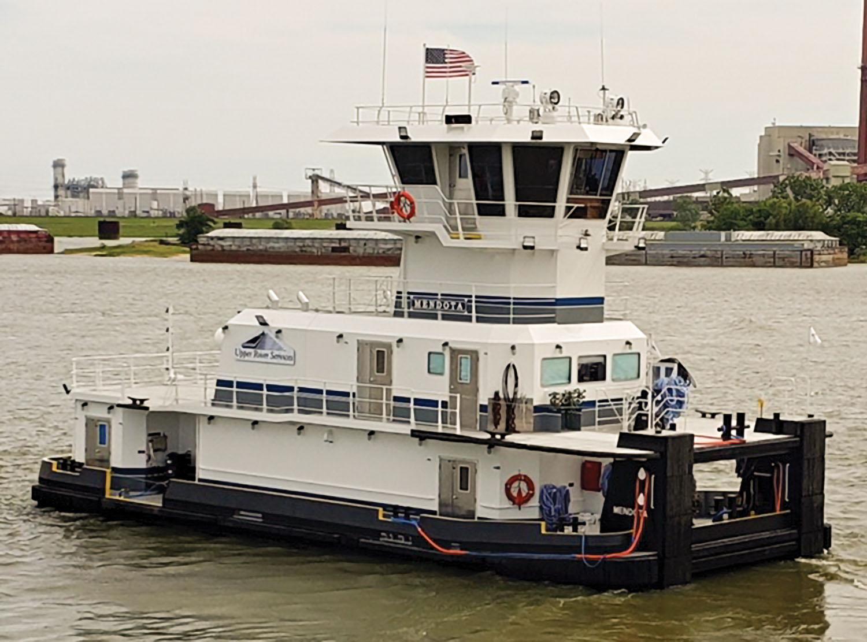 C&C Marine & Repair Delivers Mv. Mendota