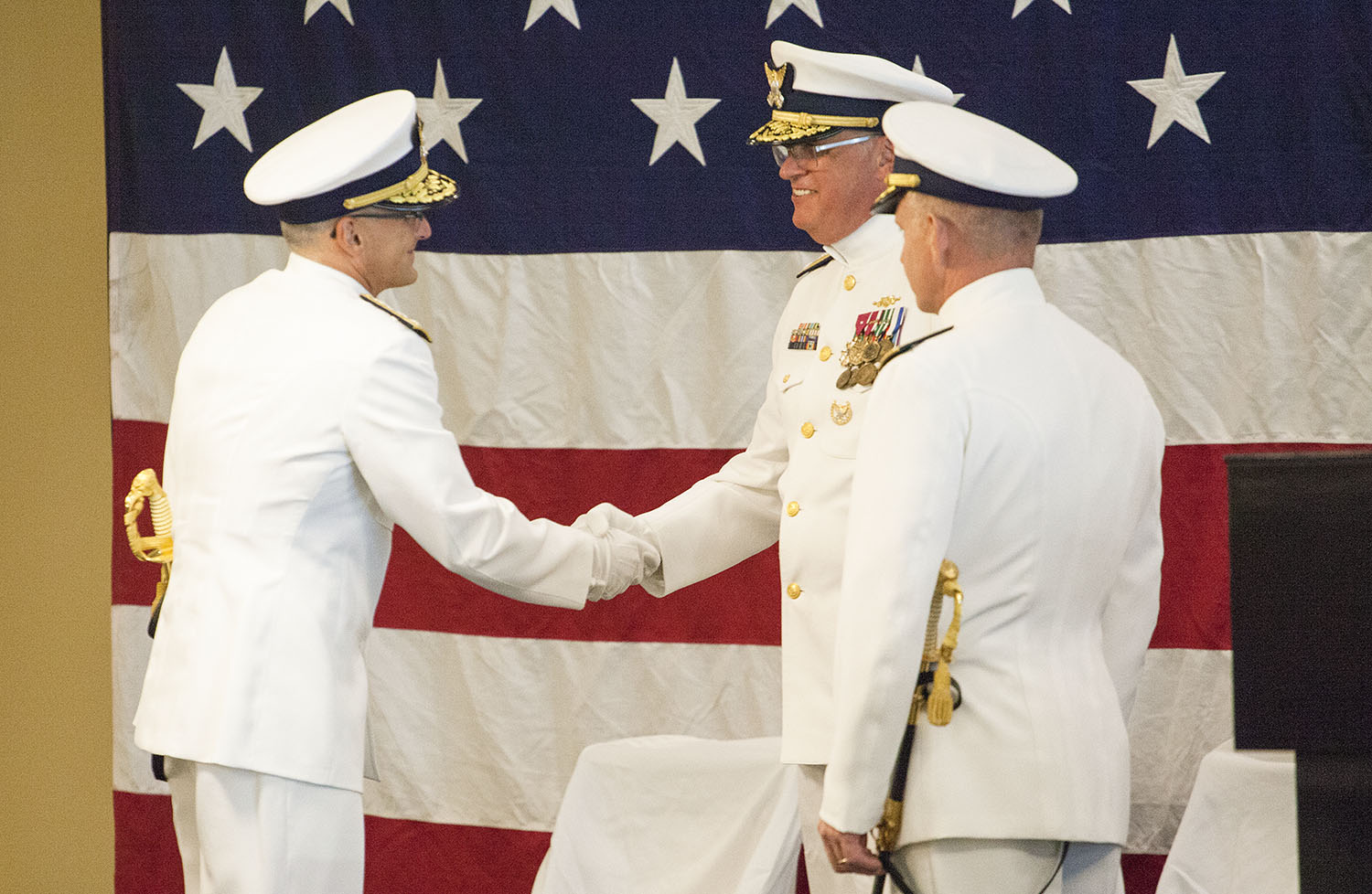 Eighth CG District Command Transferred To Nadeau
