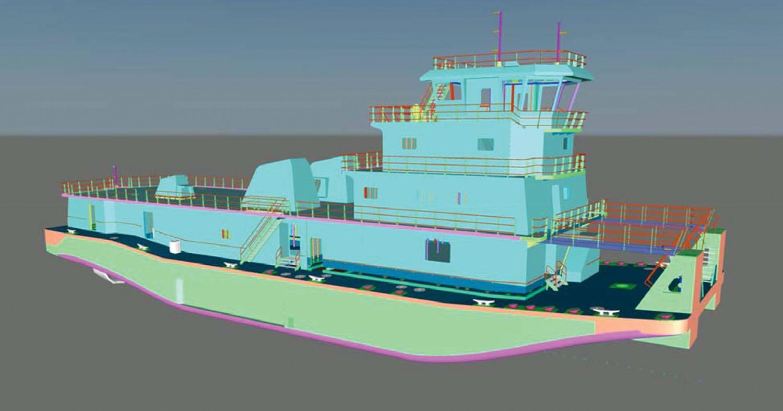 Conrad Shipyard towboat