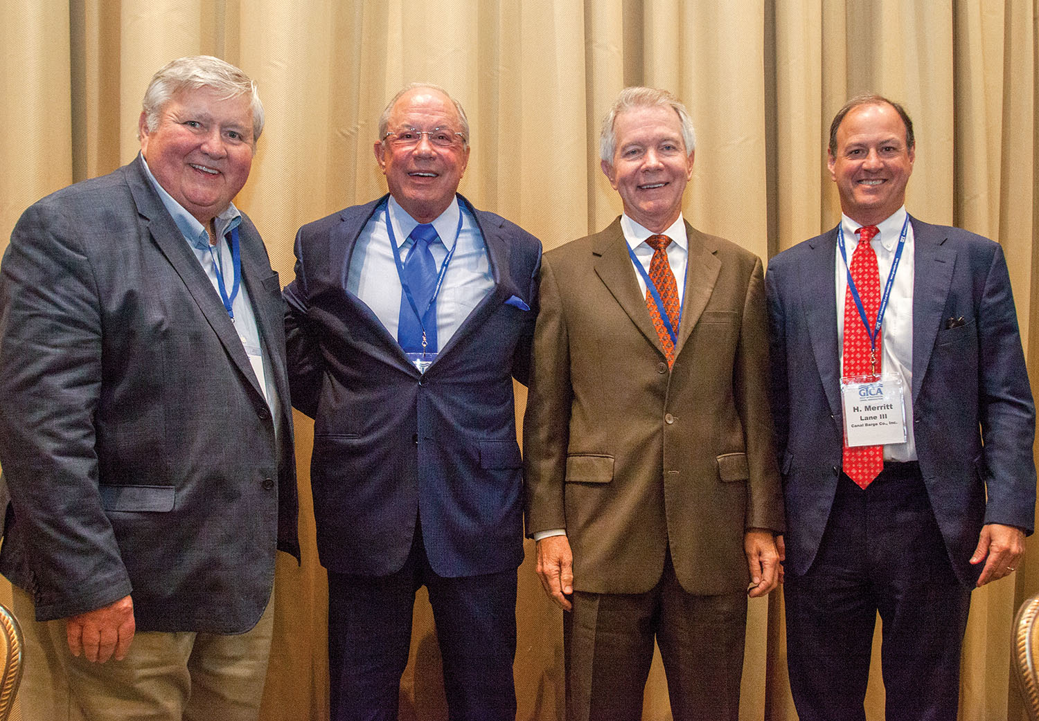 CEO panel, from left: Jerry Clower, Pat Studdert, Steve Golding and Merritt Lane III. (Photo by Frank McCormack)