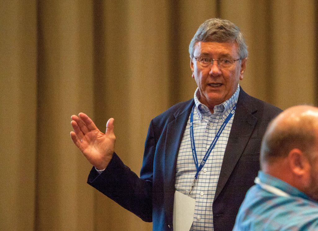 Jim Stark, GICA president. (Photo by Frank McCormack)