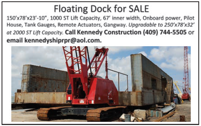 Kennedy Construction (Eighth_2c) Floating Dock For Sale