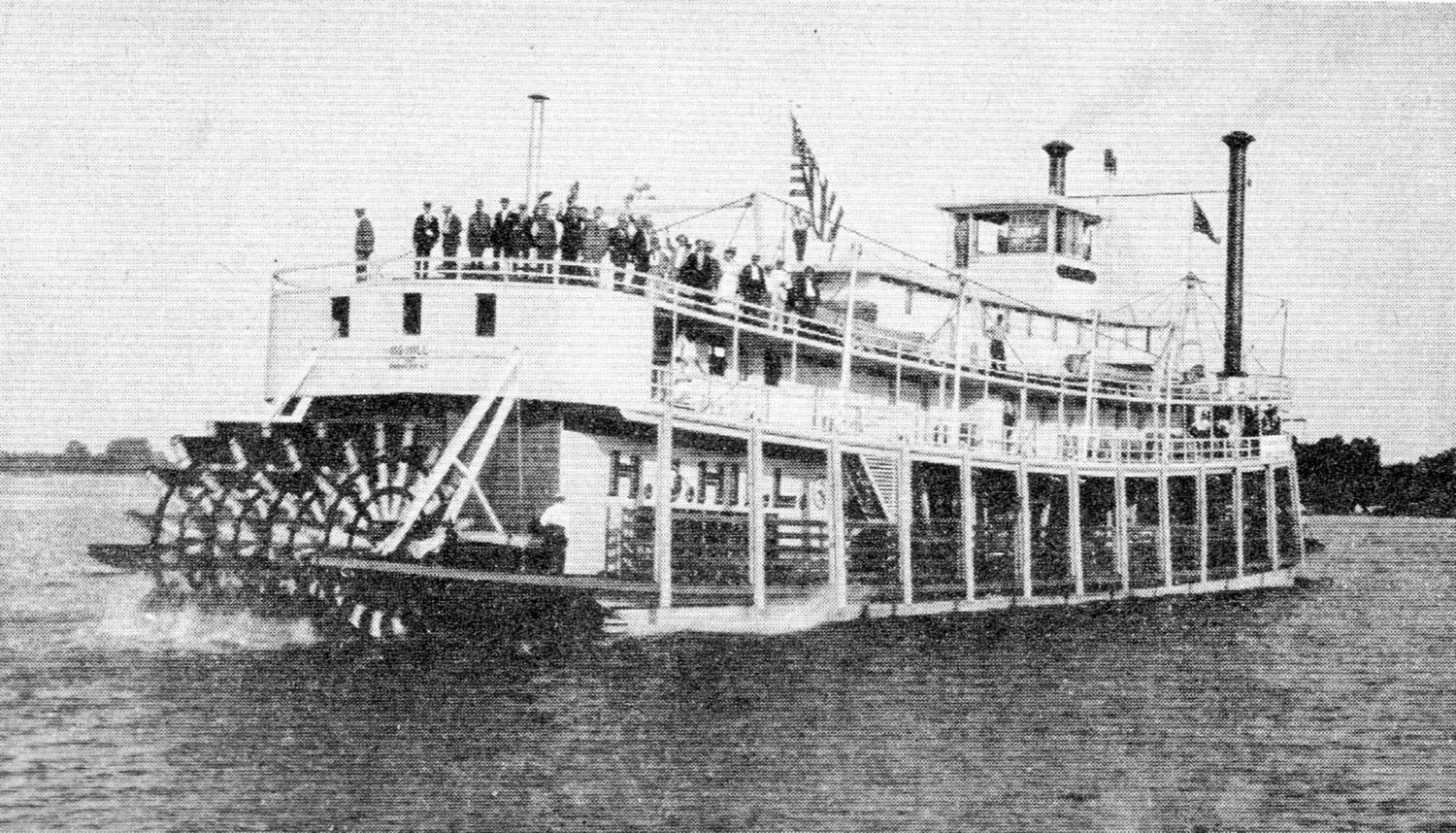 The H.G. Hill on its trial trip in June 1919. (Keith Norrington collection)