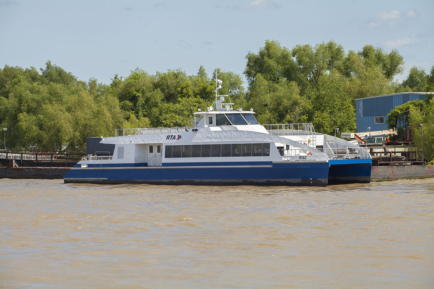 New ferry RTA 1. (Photo by Frank McCormack)