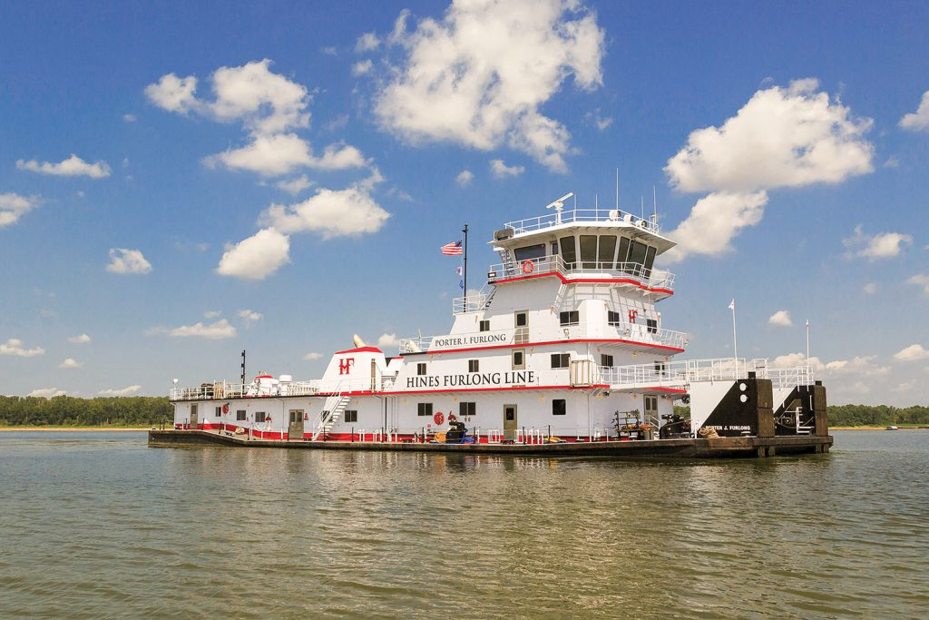 The mv. Porter J. Furlong was formerly the Mountain State of AEP River Operations.