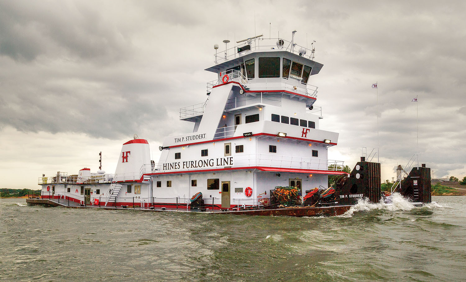Hines Buys And Renames Three Towboats