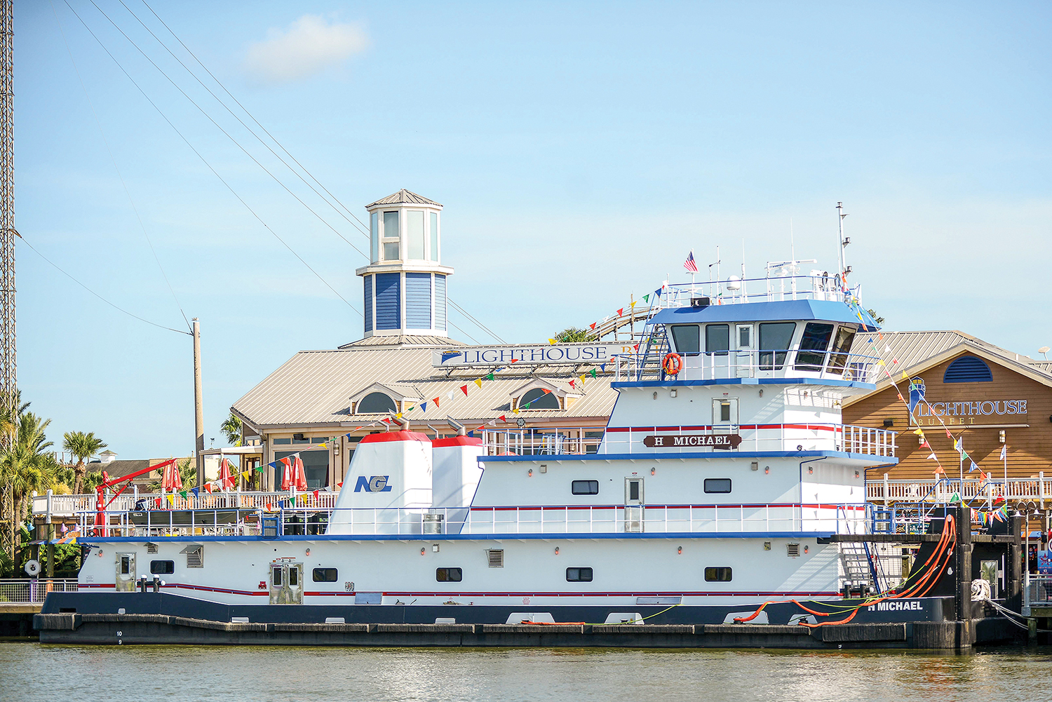NGL Marine Takes Delivery Of 3,200 Hp. Towboat