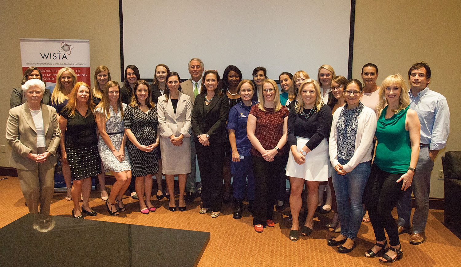 Attendees at the recent WISTA luncheon and Leaders in Maritime Panel in New Orleans. (Photo by Frank McCormack)