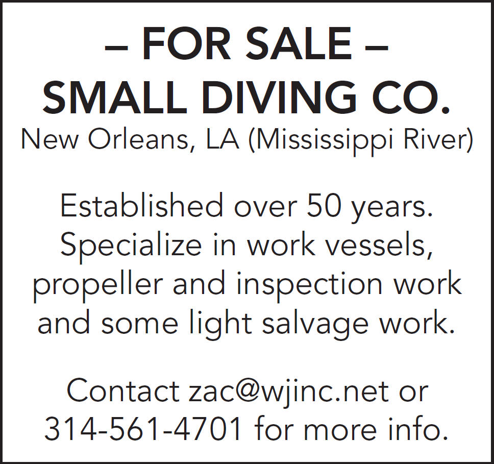Diving Company For Sale