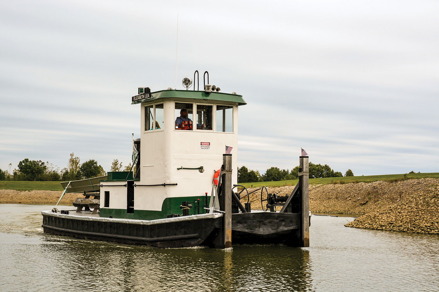 The Elizabeth Lea underway in May 2019. (Photo by Paul Richardson)
