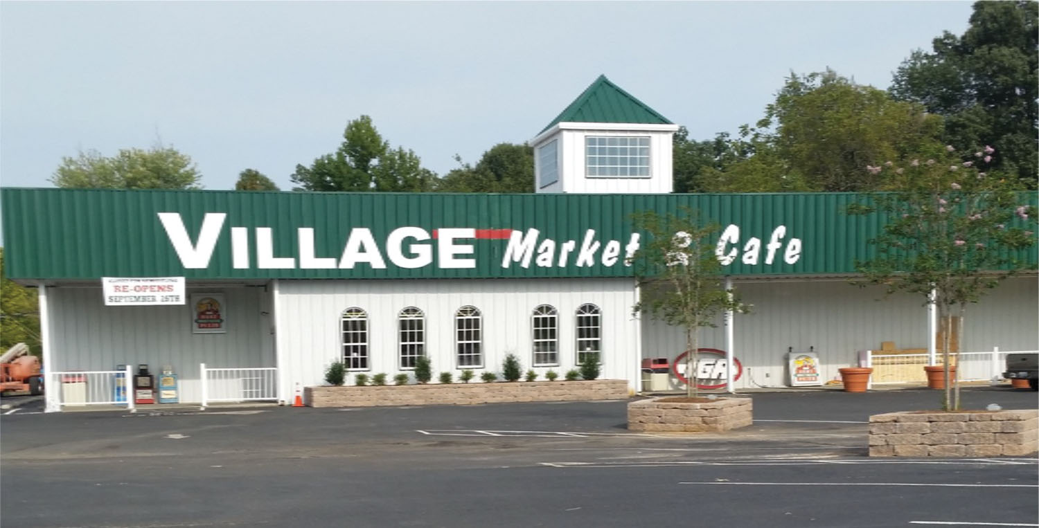 The Village Market & Cafe in Grand Rivers, Ky.