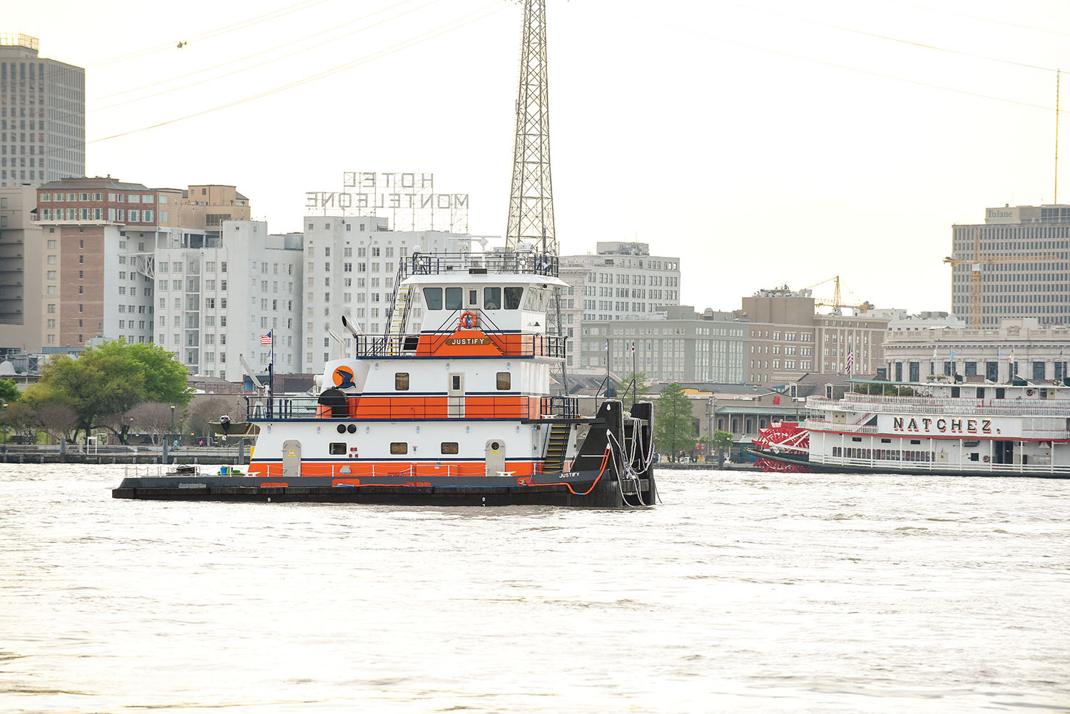 The mv. Justify went into service in April. (Photo courtesy of Turn Services)