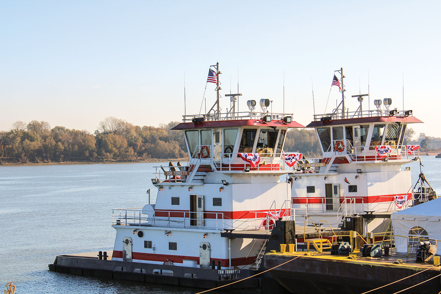 CGB And Waterfront Services Christen Two New Boats