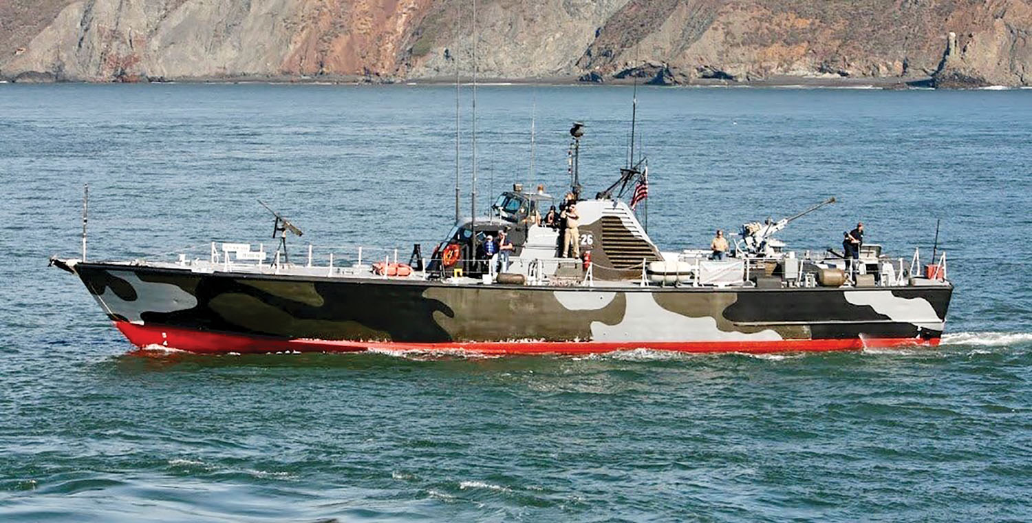 In its most recent role, PTF-26 has served as a training ship for sea scouts in northern California.