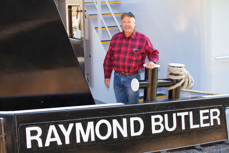 MP Raymond Butler 55