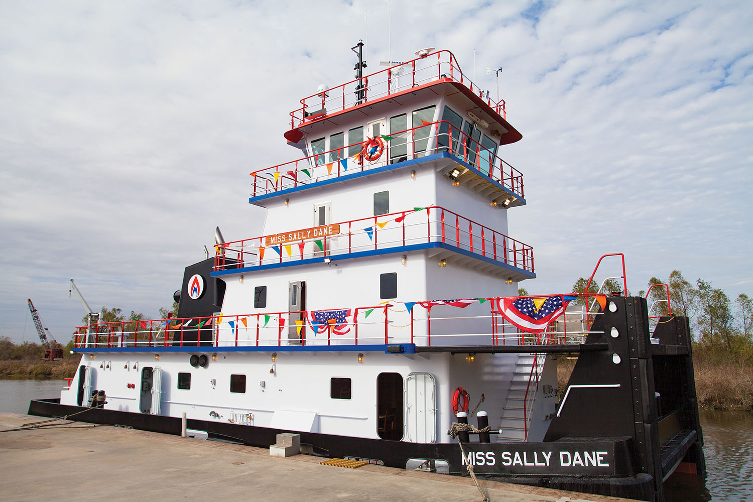 Maritime Partners Christens Mv. Miss Sally Dane