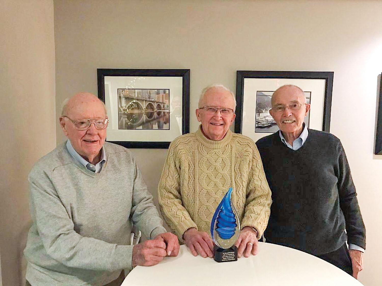 Dean Johnson, Russ Eichman, Dick Lambert UMWA