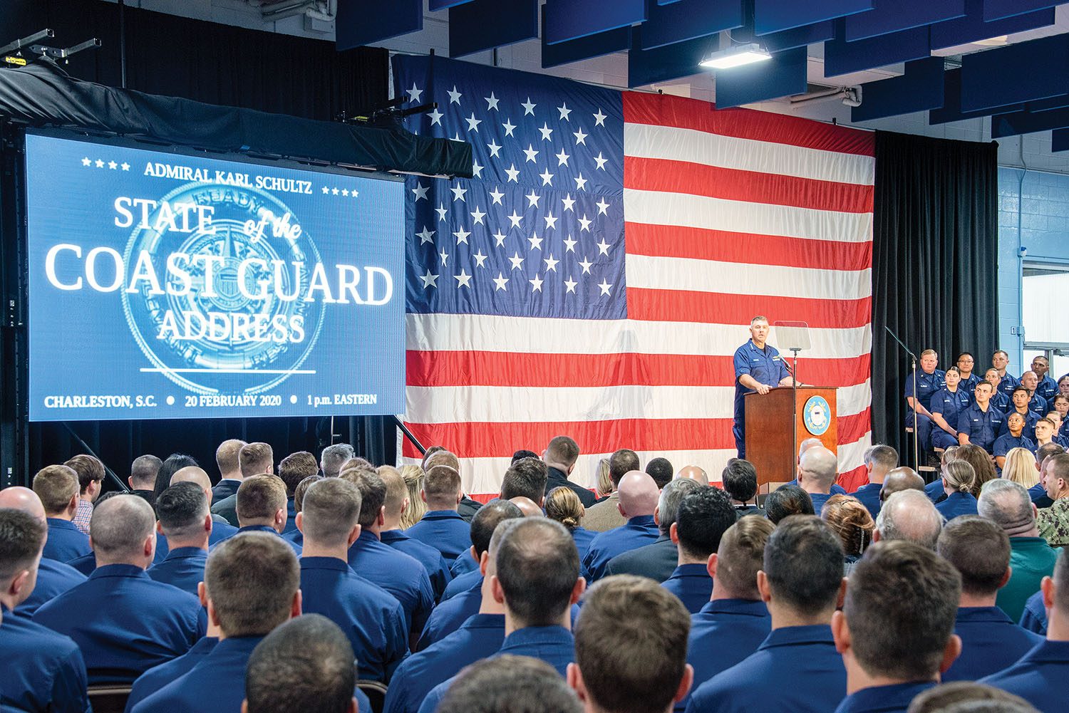 Coast Guard Commandant Touts 'Tech Revolution' Road Map