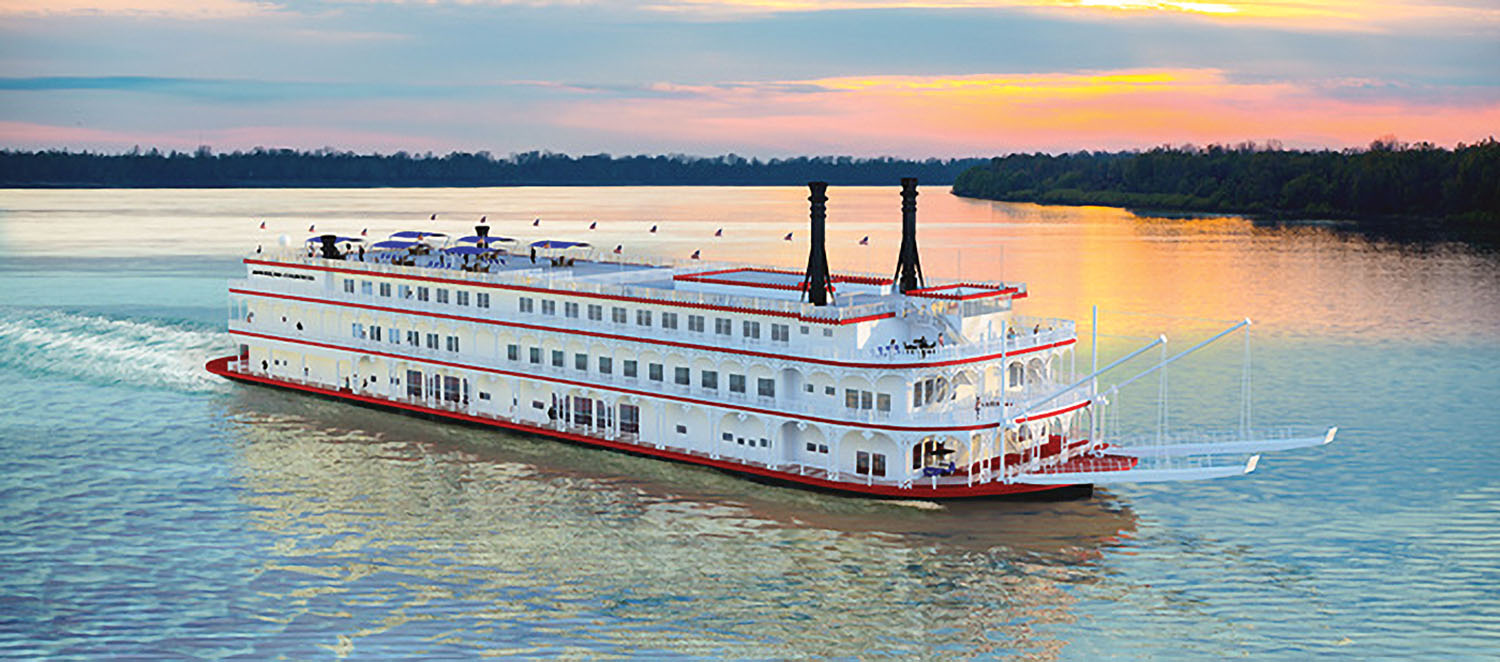 The American Countess of American Queen Steamboat Company will be christened April 4.