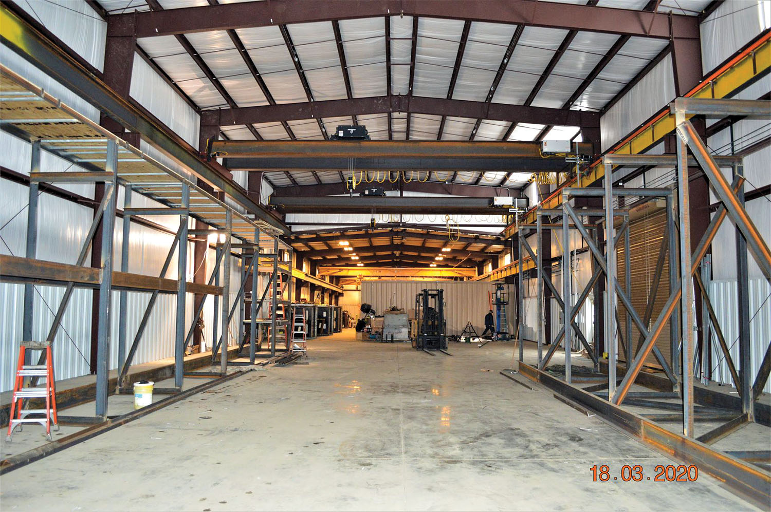 Machine Shop addition will allow for Z-drive repairs and storage. (Photo courtesy of Mike's Inc.)