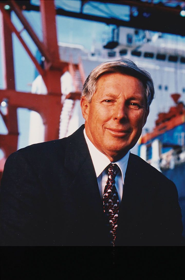 Remembering Longtime New Orleans Maritime Industry Leader Jimmy Amoss